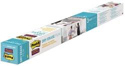 Whiteboard folie 3M Post-it 121.9x243.8cm wit
