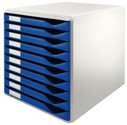 Ladenblok Leitz 5281 10 laden blauw
