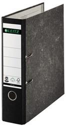 Ordner Leitz 1080 A4 80mm karton gewolkt zwart