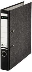 Ordner Leitz 1050 A4 50mm karton gewolkt zwart