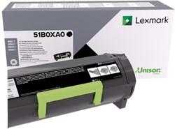 Tonercartridge Lexmark 51B0XA0 zwart EHC