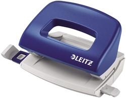 Perforator Leitz 5058 2-gaats 10vel blauw