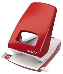 Perforator Leitz 5138 2-gaats 40vel rood