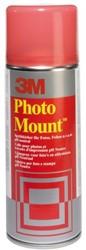 Lijm 3M Fotomount spuitbus 400ml
