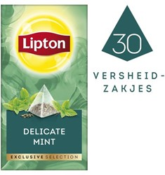 Thee Lipton Exclusive Subtile Mint 30 piramidezakjes