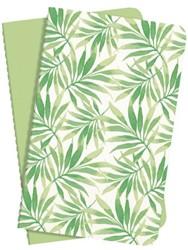 Notiteboek Sigel Jolie A6 lijn groen