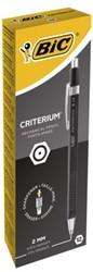 Vulpotlood Bic Criterium 2mm met gum metalen clip