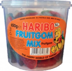 Haribo Fruitgom Mix 650gram