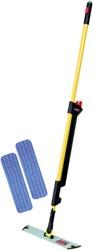 Mopsysteem Rubbermaid Pulse kit met navulling geel