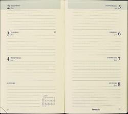 Agenda 2019 Brepols Interplan gebonden 7dag/2pagina's zwart