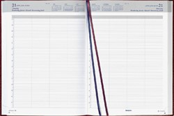 Agenda 2019 Brepols Bremax A4 8 kolommen bordeaux