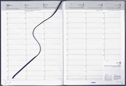 Agenda 2019 Brepols Omega 7dag/2pagina's blauw
