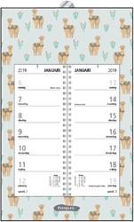 Omlegweekkalender 2019 Foqus alpaca