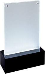 Tafelstandaard sigel LED A6 116x195x45