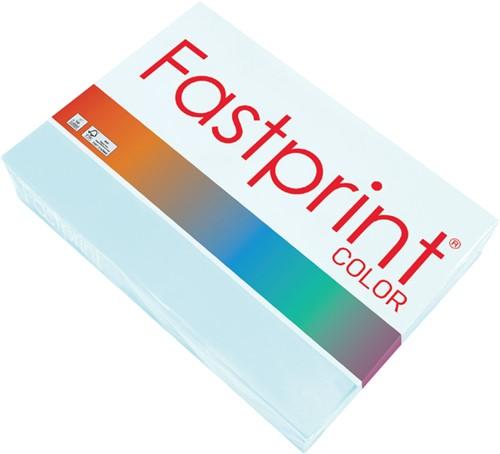Kopieerpapier Fastprint A3 120gr lichtblauw 250vel