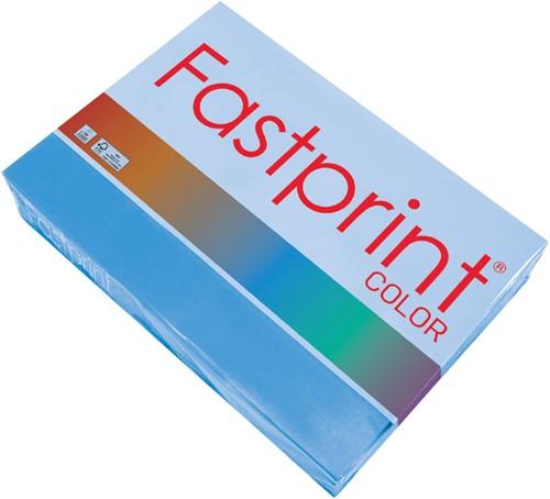 Kopieerpapier Fastprint A4 80gr diepblauw 500vel