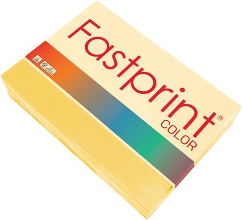 Kopieerpapier Fastprint A3 80gr diepgeel 500vel