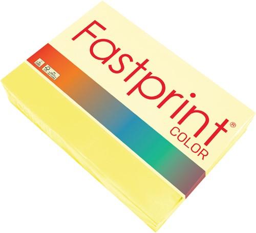 Kopieerpapier Fastprint A3 120gr zwavelgeel 250vel