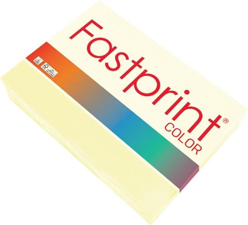 Kopieerpapier Fastprint A4 80gr vanille 500vel