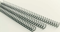 Draadrug GBC 12.7mm 34-rings A4 zilver 100stuks-3