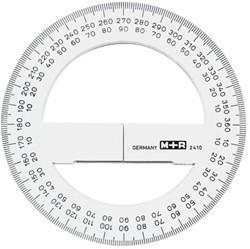 Kompasroos M+R 2410 100mm polystyrol transparant