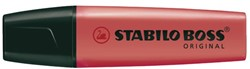 Markeerstift Stabilo Boss rood