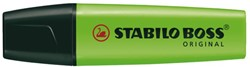 Markeerstift Stabilo Boss groen