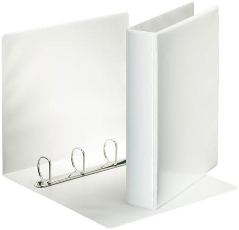 Presentatieringband Esselte A4 4-rings D-mech 25mm wit