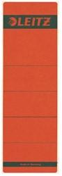 Rugetiket Leitz 1642 62x192mm zelfklevend rood