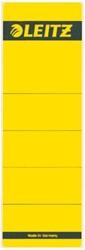 Rugetiket Leitz breed 62x192mm zelfklevend geel