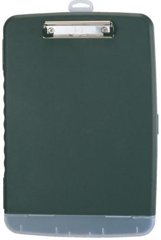 Klembordkoffer Oic 83321 kunststof kopklem donkergrijs-2