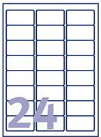 Etiket Avery J8159-25 63.5x33.9mm wit 600stuks-2