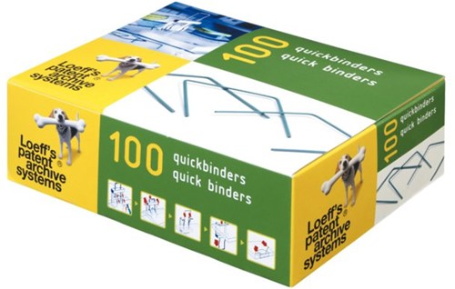 Bundelbeugel Loeff 1215 Quickbinder 100mm groen-1