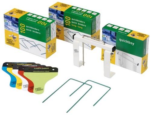 Bundelbeugel Loeff 1215 Quickbinder 100mm groen-2
