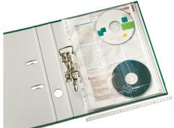 Showtas Leitz 4761 11-gaats PP 0.12mm met cd insteekhoes