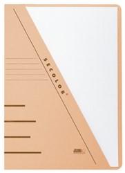 Insteekmap driehoeksmap Jalema Secolor A4 chamois