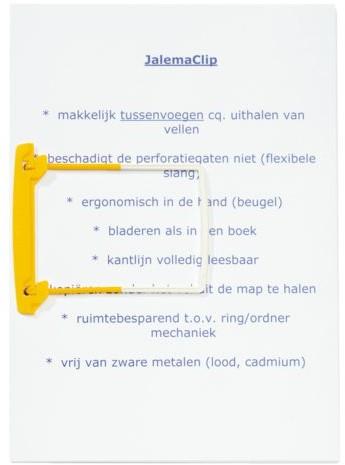 Bundelmechaniek JalemaClip geel-3