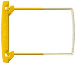 Bundelmechaniek Jalemaclip compleet geel 10 stuks