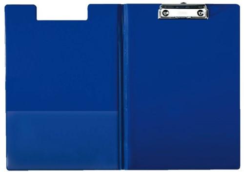Klemmap Esselte 56045 met kopklem en insteek blauw