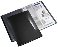Showmap HF2 flexibel A4 10-tassen zwart