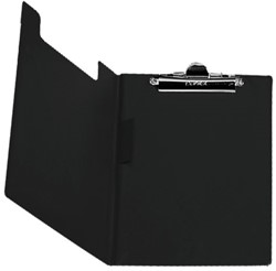 Klemmap Bantex met klem + penlus zwart