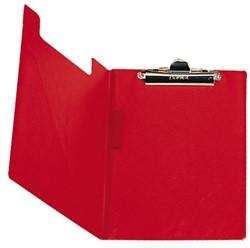 Klemmap Bantex met klem + penlus rood