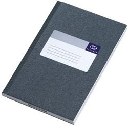 Notitieboek Atlanta 165x105mm 128blz grijs