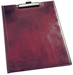 Klemmap Durable 2355 met kopklem en insteek rood