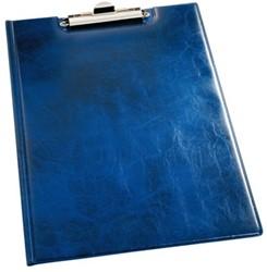 Klemmap Durable 2355 met kopklem en insteek blauw
