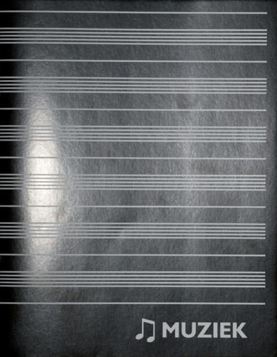 Schrift 165x210 muziekschrift 36blz