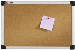 Prikbord Nobo 120x90cm  kurk retailverpakking