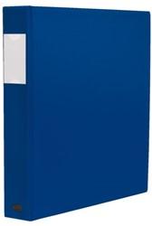 Ringband Multo Esprit 23-rings A4 25mm D-mech blauw