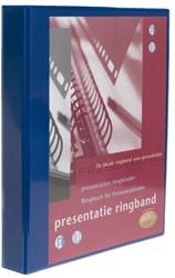 Presentatie ringband Multo 23R A4 32mm blauw