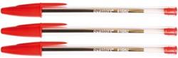 Balpen Quantore Stick rood medium
